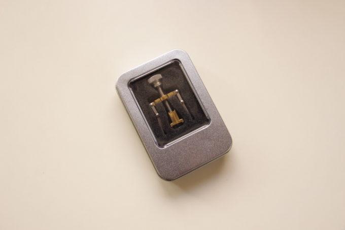 巻き爪矯正器具の画像