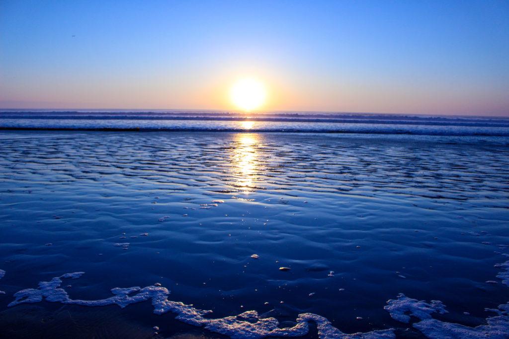 片貝海岸の初日の出8