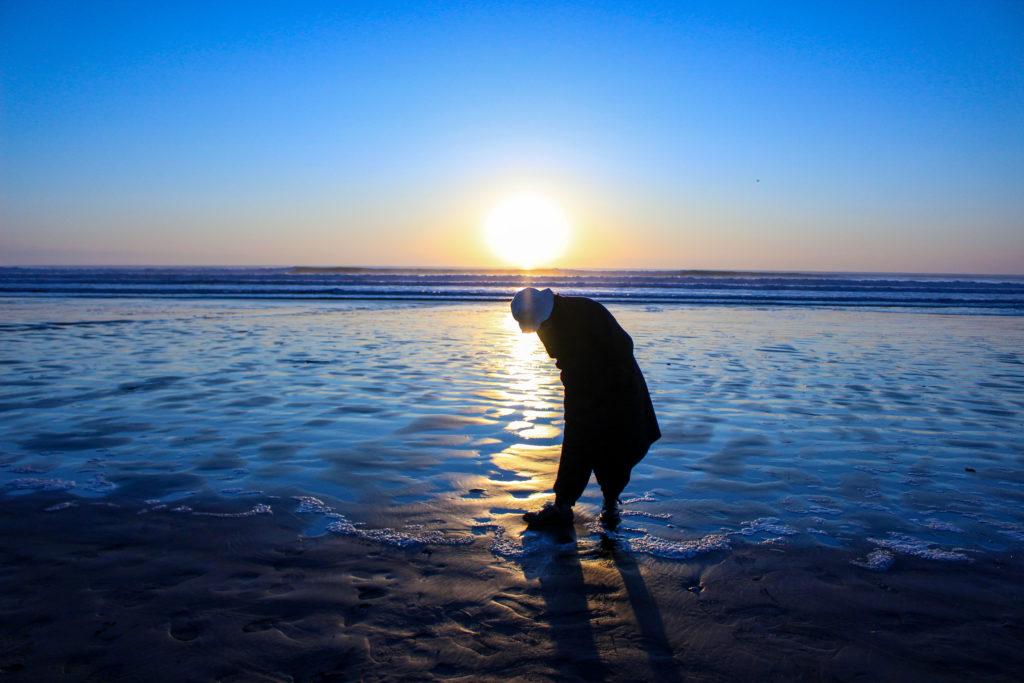 片貝海岸の初日の出7