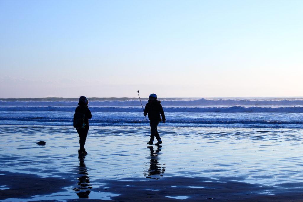 片貝海岸の初日の出4